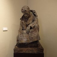 Sculpture of Saint John Baptist de La Salle