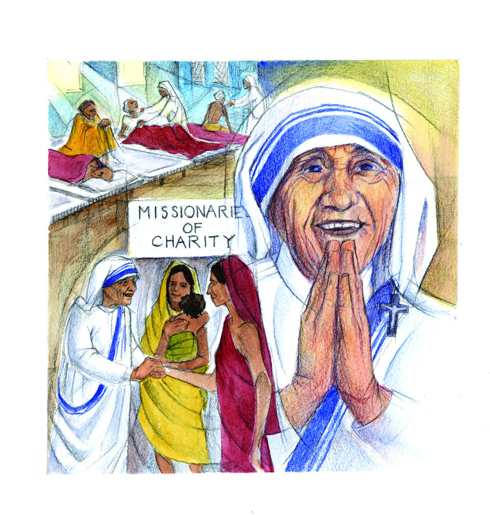 essay about mother teresa of calcutta