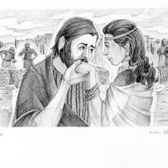 Hosea 3:1 Illustration - Hosea and Gomer