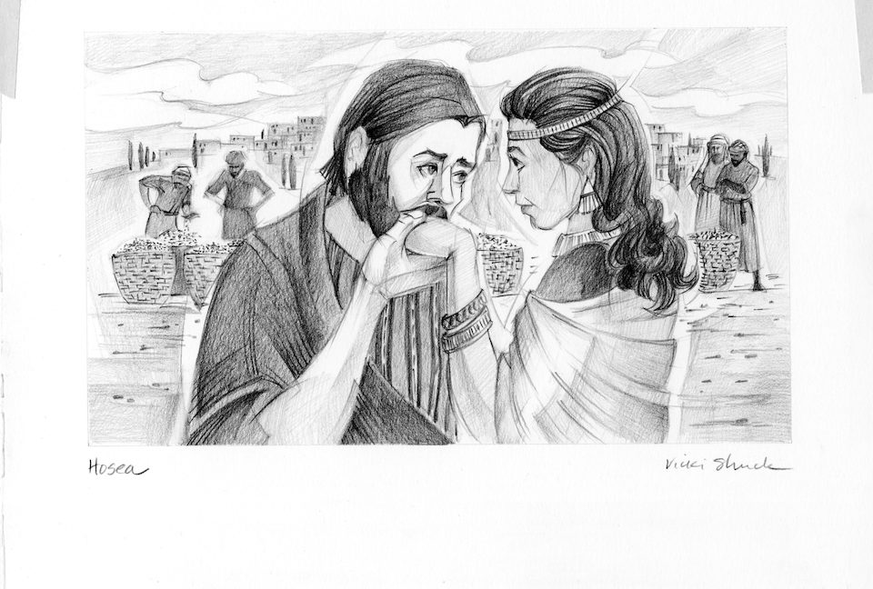 marriage between the prophet hosea and gomer religion essay Hosea was a prophet of the northern kingdom: he speaks of its king as our king (7:5)  gomer, was not only a preparation for his ministry, but a parable to the.
