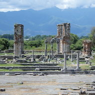 Remains of Ancient Philippi