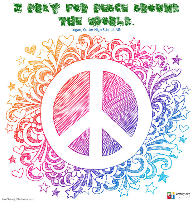 Peace Around The World Saint Marys Press