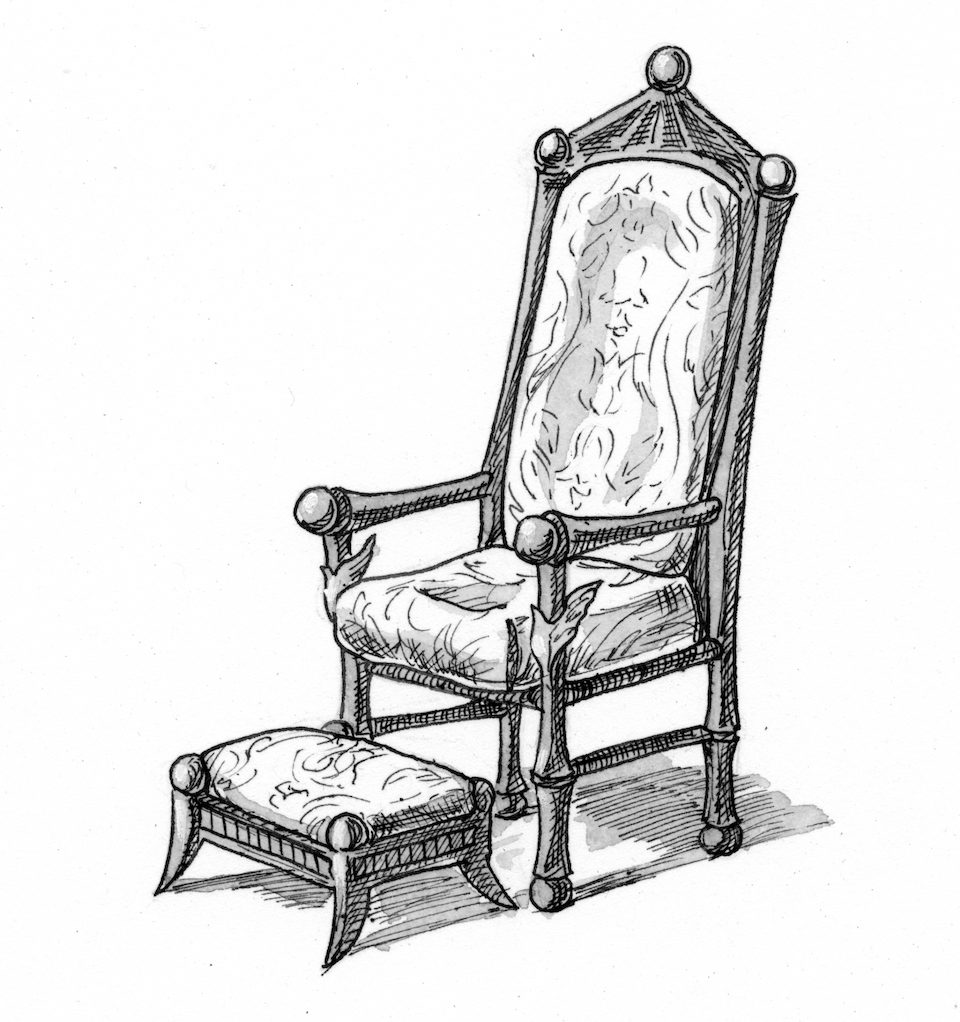 Isaiah 66 Illustration Throne And Footstool Saint Mary