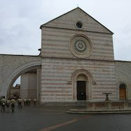 Basilica of Saint Clare in Assisi, Italy