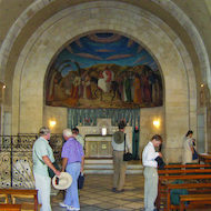 Church of Bethphage on the Mount of Olives in Jerusalem