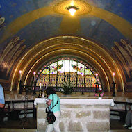Church of the Transfiguration on Mount Tabor in Israel