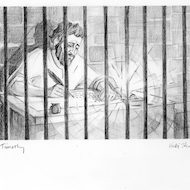 2 Timothy 1:8 Illustration - Paul in Prison