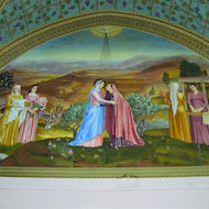 The Visitation - Church of the Visitation at Ein Karem in Israel