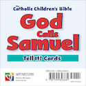 God Calls Samuel Tell It! Cards